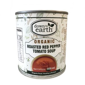 Down To Earth Red Pepper Tomato Soup 300G