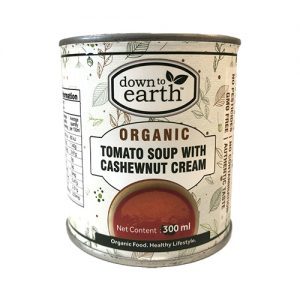 Down To Earth Tomato Cashewnut Soup 300G