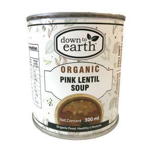 Down To Earth Pink Lentil Soup 300G