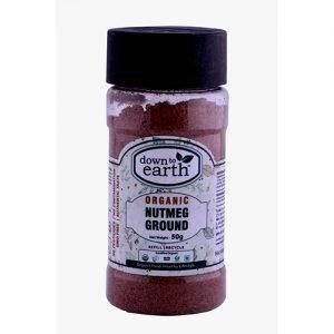 Down To Earth Nutmeg Powder 50G