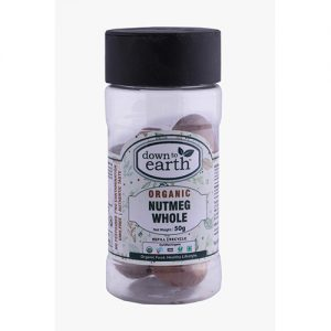 Down To Earth Nutmeg Whole 50G