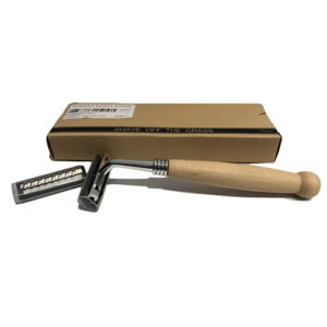Organic Nation Wooden Safety Razor