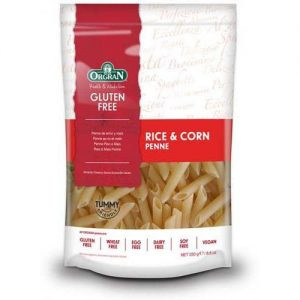Pasta Penne Rice Corn Gluten Free 250G