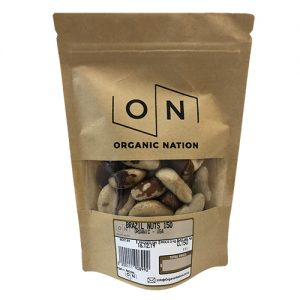 Organic Nation Brazil Nuts 150G