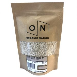 Organic Nation Sesame Seeds Hulled 200G