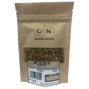 Organic Nation Bee Pollen 50G