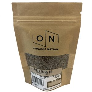 Organic Nation Cumin Seeds 50G