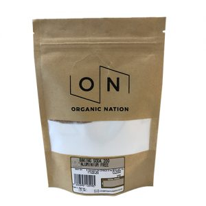 Organic Nation Baking Soda 200G