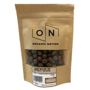 Carob Raisins 150G Organic Nation