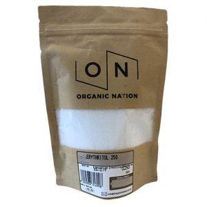 Organic Nation Erythritol Sweetener 250G