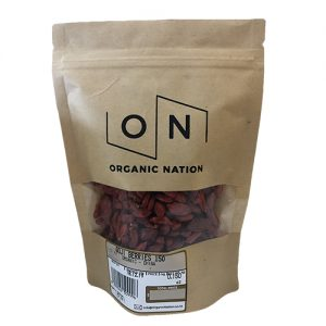 Organic Nation Goji Berries 150G
