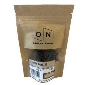 Organic Nation Star Anise 25G