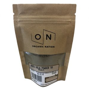 Organic Nation Gotu Kola Powder 50G