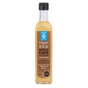 Chantal Organics Apple Cider Vinegar Raw 500ML