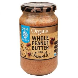 Chantal Organics Whole Smooth Peanutbutter 400G