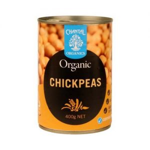 Chantal Organics Chick Peas 400G