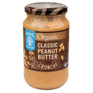 Chantal Organics Clas Peanutbutter Crunchy 400G