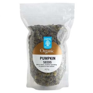 Chantal Organics Pumpkin Seeds 400G