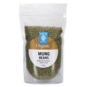 Chantal Organics Mung Beans 500G – Discont