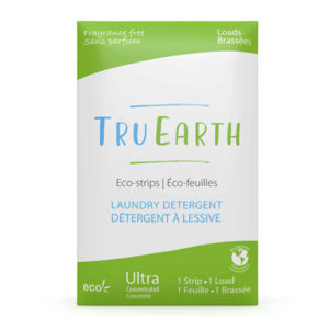 Tru Earth Eco strips Laundry Detergent (Fragrance Free) – 32 Loads