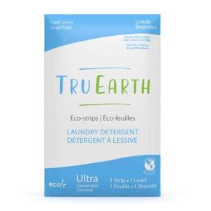Tru Earth Eco strips Laundry Detergent (Fresh Linen) – 32 Loads