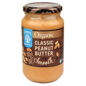 Chantal Organics Peanut Butter Smooth 400G