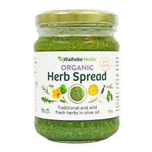 Waiheke Herbs Herb Spread Garlic 200G
