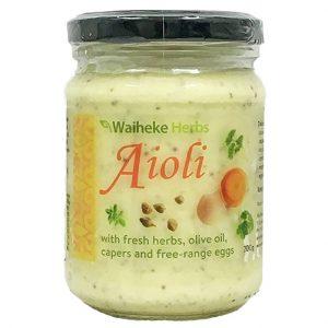 Waiheke Herbs Aioli 200G