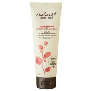 Natural Instinct Foam Facial Cleanse 110ML