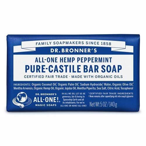 PURE CASTILE SOAP MINT 140G