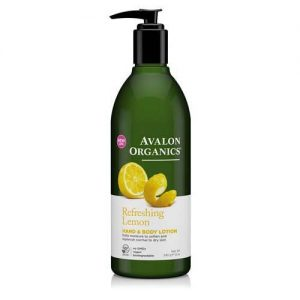 Avalon Refreshing Organics Lemon Hand & Body Lotion 340G