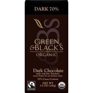 Organic Dark Choc Bar 85% Cacao 90G