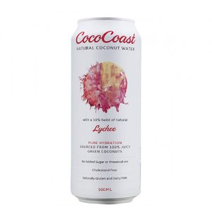 Cococoast Lychee Coconut Water 500ML