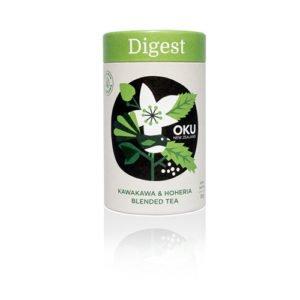 Oku Kawakawa Loose Leaf Tea Digest 30G