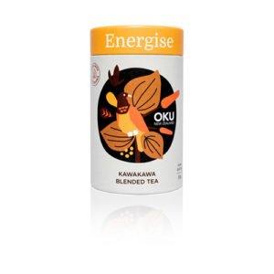 Oku Kawakawa Loose Leaf Tea Energise 30G