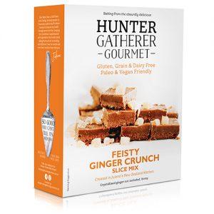 Hunter Gatherer Gourmet Feisty Ginger Crunch Slice Mix 300G