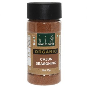 Down To Earth Organic Cajun Seasoning 55G