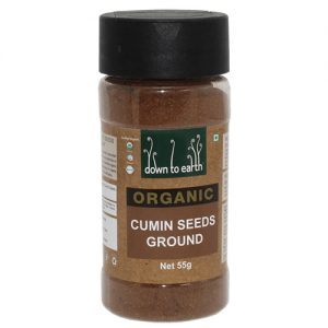 Down To Earth Cumin Seeds Ground 55G