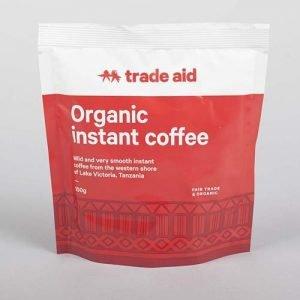 Trade Aid Instant Coffee Powder 100G