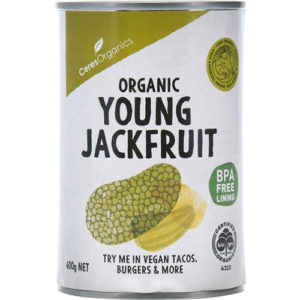 Ceres Organic Young Green Jackfruit In Brine 400G