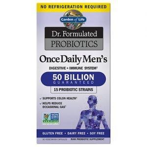 Garden Of Life Mens Probiotics 30