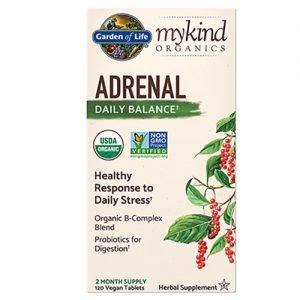 Garden Of Life Adrenal Balance Mykind 120 Tabs