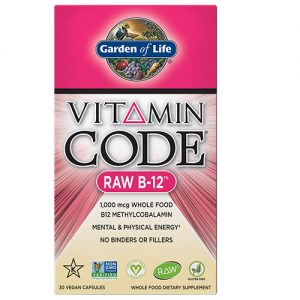 Garden Of Life Raw B12 Vegan Capsules
