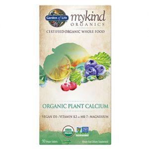 Garden Of Life My Kind Organics Organic Plant Calcium 90 Tabs