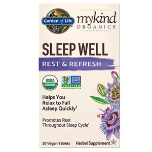 Garden Of Life Sleep Well 30 Vegan Tablets