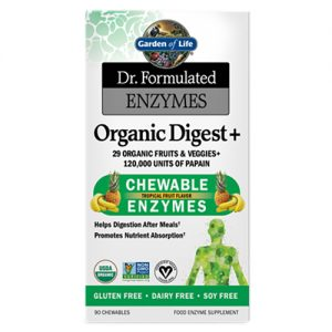 Garden Of Life Organic Digest Plus 90 Chews