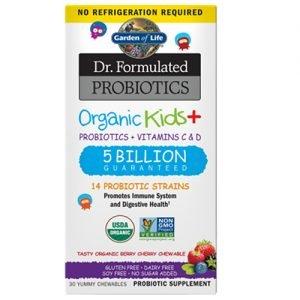 Garden Of Life Kids Plus Probiotic 30 Chews