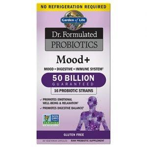 Garden Of Life Mood Plus Probiotic 60 Caps