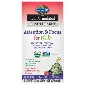 Garden Of Life Kids Brain Health 60 Chewables