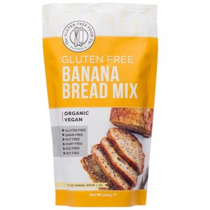 The Gluten Free Food Co Banana Bread Mix 400G
